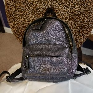 Coach Mini Backpack Holographic Hologram Oil Slick